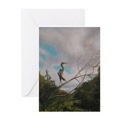 ON SILVER RIVER Greeting Cards