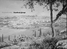 صورة نادرة لمدينة الناصرة من جبل القفزة عام 1912م  A Rare Picture of the city of Nazareth from jabal leap in 1912
