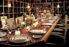 This is not my dream, nor is it my ideal, but it is surely acceptable!! I would have no problem eating dinner here!