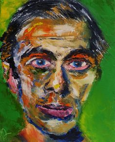 ernst ludwig kirchner paintings | Portrait of Ernst Ludwig Kirchner, Oil on Canvas 10×8 ...