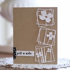 poppystamps Dogwood Frames and more… | expressions with heart
