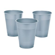 Metallic+Silver+Cups+-+OrientalTrading.com