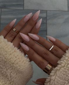 Image about inspiration in nail art by ~ A.E ~ – nails goals image – Image about inspiration in nail art by ~ A.E ~ – nails goals image – Dream Nails, Love Nails, My Nails, Grow Nails, Stiletto Nail Art, Cute Acrylic Nails, Simple Stiletto Nails, Pointy Nails, Stylish Nails