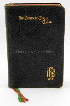 Father Lasance Catholic Girl's Guide 1946 Latin English Benziger Leather Cover by QueeniesCollectibles on Etsy