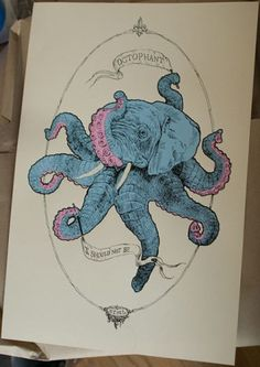 Got to love the wicked illustrations of Octophant.
