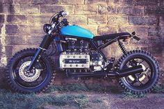 Scrambler Ed Turner - RocketGarage - Cafe Racer Magazine Bmw Cafe Racer, Moto Racer, Inazuma Cafe Racer, Cafe Racer Helmet, Bobber Custom, Custom Bmw, Custom Cafe Racer, Custom Bikes, Enduro