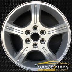 "17"" Chevy Uplander OEM wheel 2006-2009 Silver alloy stock rim 5012 #WheelsForSale #WheelSmartRims #OemRims #OemWheels"