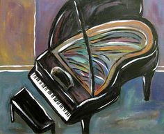Pianos art works of art