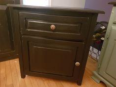Door Furniture, Furniture Refinishing, Filing Cabinet, Nightstand, Doors, Storage, Table, Red, Home Decor