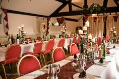 Medieval wedding reception decor #Medieval #RenaissanceWedding