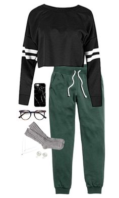 """s i m p l e"" by hxnnxhnicxle on Polyvore featuring Ace, UGG, Recover and AK Anne Klein"