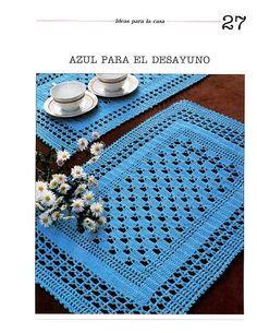 El Baul de Crochet y Telar: Patrones en crochet, como tejer tapetes