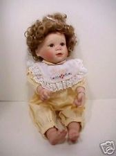 GINNY Ashton Drake porcelain baby doll by YOLANDA BELLO