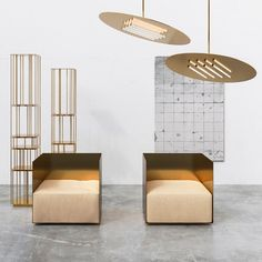 Five designers and studios to look out for at Sight Unseen Offsite 2017 Design Furniture, Furniture Decor, Milan Furniture, Contemporary Armchair, Contemporary Design, Interior Styling, Interior Design, Mirrored Furniture, Design Blog
