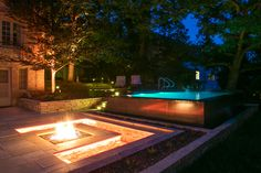 Awesome infinite pool! Kochel Residence // Des Moines Architectural Photographer