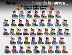 Fallen 44 Philippine SAF Soldiers.