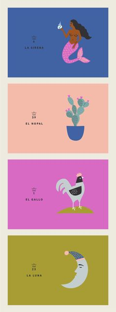 #loteria reimagined  Illustration by Heather Hale