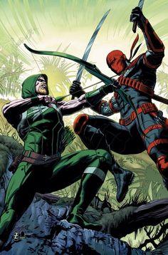 Arqueiro Verde vs. Exterminador.