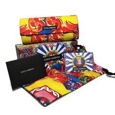 DOLCE GABBANA Sunglasses w/Pouch LARGE Sicilian Carretto Hard Case ONLY   eBay