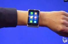 Samsung Gear S Demonstrated At IFA 2014