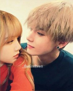 Kpop Couples, Cute Couples, K Pop, Bts Girlfriends, Fake Pictures, Blackpink And Bts, Ulzzang Couple, Couple Aesthetic, Blackpink Lisa