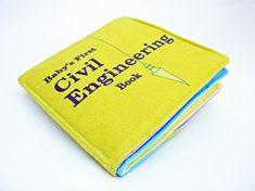Livre de bébé de génie civil par VerdantViolet sur Etsy