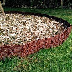 Beeteinfassung Weide Beetumrandung Weidenzaun Steck-Zaun Beet-Abgrenzung Garten kaufen bei Hood.de