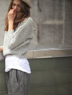 Isabel Marant Grey Pullover Sweater