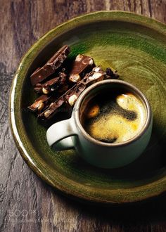 Coffee and chocolate by ctotir2000  IFTTT 500px Claudia Totir aroma chocolate coffee color image cup food food and drink food photogra