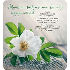 Finnish Words, Confirmation Cards, Mind Power, Enjoy Your Life, Qoutes, Diy And Crafts, Poems, Anna, Presents