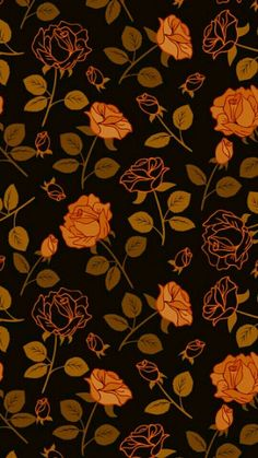 14 Rose Phone Wallpaper You Will Enjoy Witchy Wallpaper, Goth Wallpaper, Cute Fall Wallpaper, Orange Wallpaper, Halloween Wallpaper Iphone, Flower Phone Wallpaper, Iphone Background Wallpaper, Halloween Backgrounds, Cute Wallpaper Backgrounds