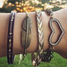 Feather Bangle Bracelet / Antique Bronze Brass / Boho Bohemian Stacking Jewelry Lover Gift Gypsy Wedding Bridesmaids Free Spirit Wanderer by lydiasvintage on Etsy https://www.etsy.com/listing/463140470/feather-bangle-bracelet-antique-bronze
