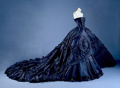 This is more like a beautiful thread than an oddley thread, but it needed a folder and anhonorablemention! From the House of Dior, the 'Maria-Luisa' was designed by John Galliano for the Dior spr...