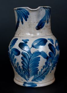 Antique Stoneware Auction, American Redware Pottery Auction by Crocker Farm