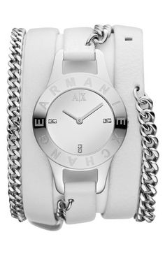 AX Armani Exchange Double Wrap Watch available at #Nordstrom