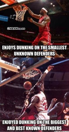 LeBron James vs. Michael Jordan! - http://nbanewsandhighlights.com/lebron-james-vs-michael-jordan/