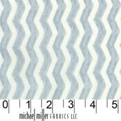 Sarah Jane - Out To Sea - Water Chevron in Gray