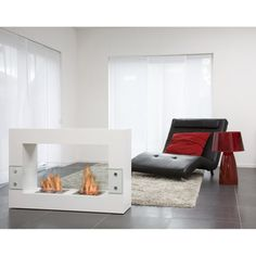 @Overstock - This modern Qube bio-fireplace from Bio-Blaze runs on bio-ethanol fuel and is environmentally friendly. This unit can function as a room divider for a dramatic effect in any home decor.http://www.overstock.com/Home-Garden/Bio-Blaze-Large-White-Qube-Bio-Ethanol-Free-Standing-Fireplace/7326652/product.html?CID=214117 $2,077.99