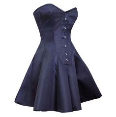 ◦Authentic Steel Boned Royal Blue Satin Overbust Long Corset Dress ◦8 Spiral Steel Bone, 4 Flat Steel Bone ◦Front Length: 24 inch (62 cm) ◦Side Length: 24.5 inch (62.25 cm) ◦Back Length: 26 inch (66 c