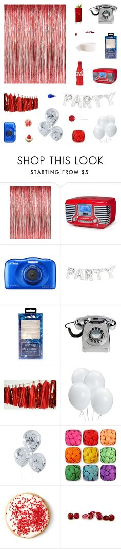 """Nationality"" by belenloperfido ❤ liked on Polyvore featuring interior, interiors, interior design, home, home decor, interior decorating, Crosley Radio & Furniture, Nikon, Talking Tables and Wild & Wolf"