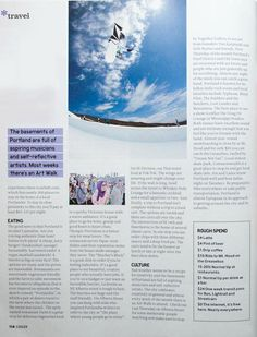 I wrote a little travel piece about Portland, Oregon in Cooler Magazine. Images by Christy Chaloux.