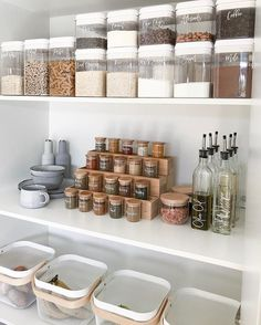 KonMari Kitchens to Drool Over Marie Kondo KonMari kitchen . - KonMari Kitchens to Drool Over Marie Kondo KonMari kitchen inspiration to fuel - Kitchen Desk Organization, Kitchen Organization Pantry, Home Organisation, Organization Ideas, Pantry Ideas, Organized Pantry, Pantry Shelving, Spice Rack Organization, Storage Organizers