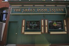 History Of The Green Door Tavern In Chicago