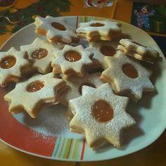 Linzer, ahogy én készítem! Ez a recept nekem nagyon bevált! - Egyszerű Gyors Receptek Waffles, Recipies, Food And Drink, Bacon, Cookies, Breakfast, Cake, Christmas, Hungary