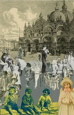 "Peter Blake - The Venice Suite - ""Children's Games"""