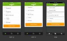Wego Flight Search iOS 7