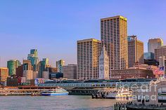 The port of San Francisco by Claudia M Photography