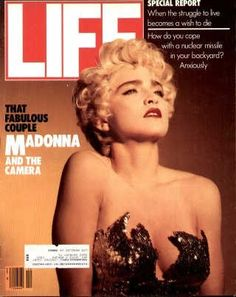 """Madonna - Original Life Magazine from  December 1, 1986 - Visit  http://www.oldlifemagazines.com/the-1980s/1986/december-01-1986-life-magazine.html to purchase this issue of Life Magazine. Enter """"pinterest"""" for a 12% discount at checkout - Madonna"""