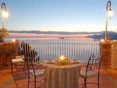 Amalfi Coast Villa Arzilla in Positano - A Terrace on Paradise