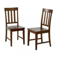 Teak Slat Back Chair - Set of 2 $158.99 at Target (on sale for $127.99)